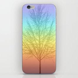Tree shadow iPhone Skin