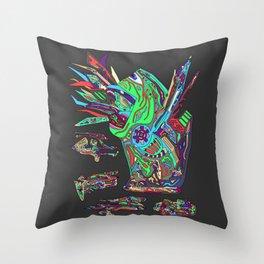 Spitter Throw Pillow