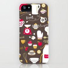 Teatime Treat Slim Case iPhone (5, 5s)