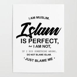 I Am Muslim Poster