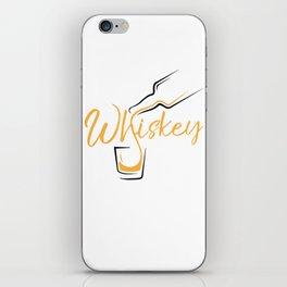 Whiskey Shot iPhone Skin