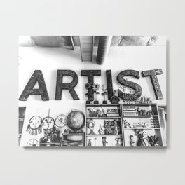 Artist Metal Print