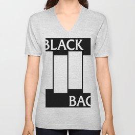 Black Bag Unisex V-Neck