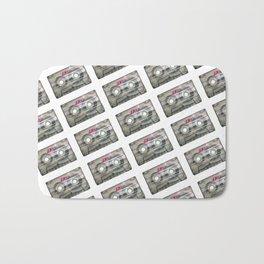 Retro Fashion Cassettes! Bath Mat