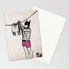 Batman's Laundry Stationery Cards