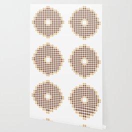 Chocolate Donut Mosaic Wallpaper