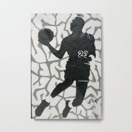 Number 23 Metal Print