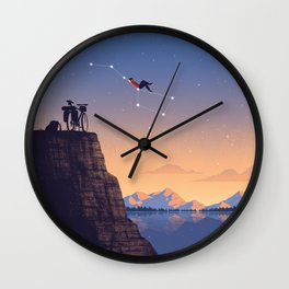 The Big Tripper Wall Clock