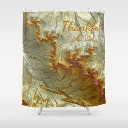 Thankful Shower Curtain