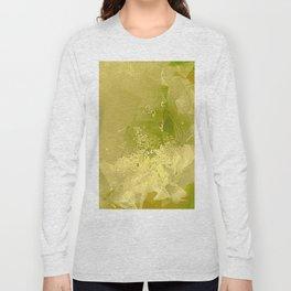 Cactus Orchid Light Green Cubist Long Sleeve T-shirt