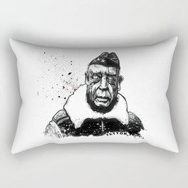 General George Smith Patton Jr. Rectangular Pillow