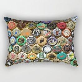 Beer Bottle Cap Animal Art Rectangular Pillow