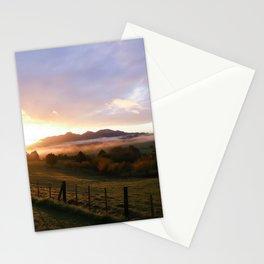New Zealand Sunrise Stationery Cards