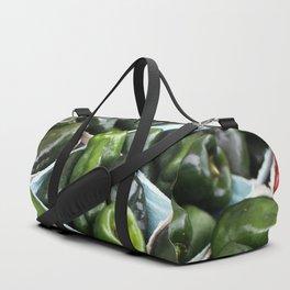 Fresh Garden Peppers Duffle Bag