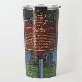 Old West End First Congregational Church Historical Marker Travel Mug
