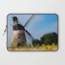 North German windmill from old time Laptop Sleeve