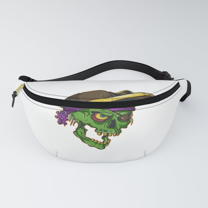 Art of a bloodthirsty pirate Fanny Pack