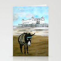donkey Stationery Cards featuring Seaside Donkey by James Peart