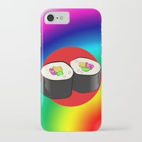 sushi iPhone & iPod Cases featuring Sushi! by Oceanic Inks