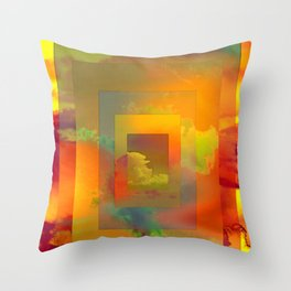 GOLDEN SLUMBERS (once there was a way to get back homeward...) Throw Pillow