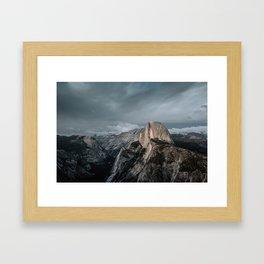 Yosemite's Half Dome Framed Art Print