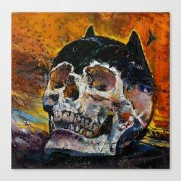 Bat Relics Canvas Print