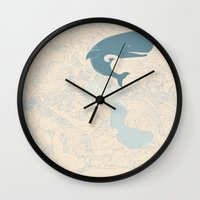 moby Wall Clocks featuring MOBY by T-Rexxx