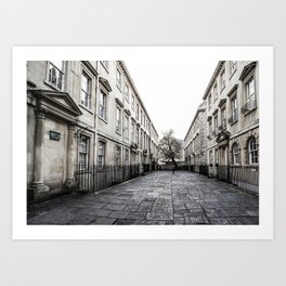 Street in Bath Art Print