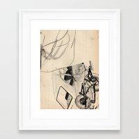 trip Framed Art Prints featuring Trip by Paul Prinzip
