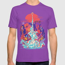 Smash! Zap!! Zooom!! - Generic Spacecraft T-shirt