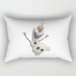 olaf frozen Rectangular Pillow