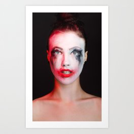 Joker Girl  Art Print