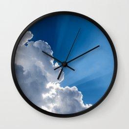 Nimbus Beam Wall Clock
