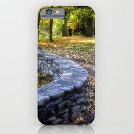 Letchworth Autumn iPhone Case