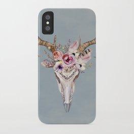Deer Skull 2 iPhone Case