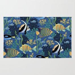 Tropical Fish Rug