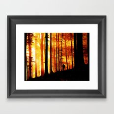 Conversing with Ancients  Framed Art Print