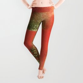 The Left Eye of Horus Spray Paint Graffiti Leggings