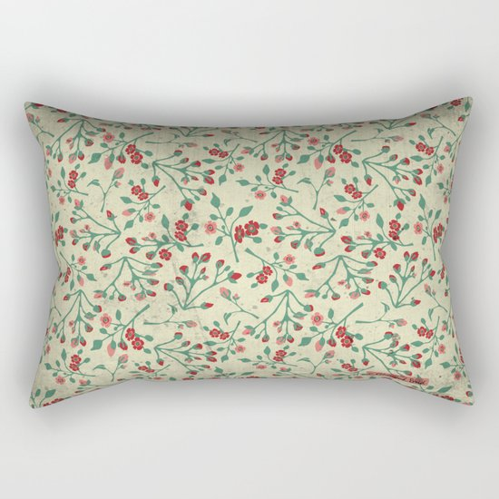 Rose Garden Rectangular Pillow