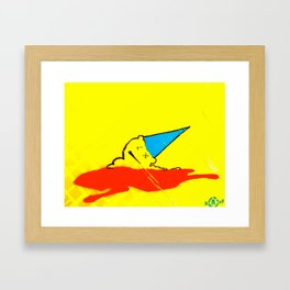 Man Down ... 2 Framed Art Print