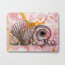 More Jewels of the Sea Metal Print
