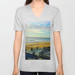 Ocean City Morning Unisex V-Neck