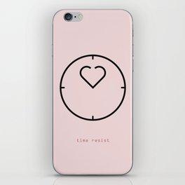 time resist iPhone Skin