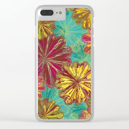 Poppytops Clear iPhone Case