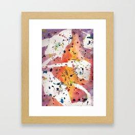 splatter Framed Art Print