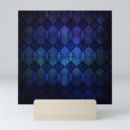 Sapphire Glass Mini Art Print