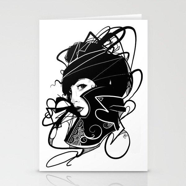 Lady Black (2014 Edition) Stationery Cards