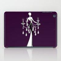 chandelier iPad Cases featuring Chandelier by Selena Gazda