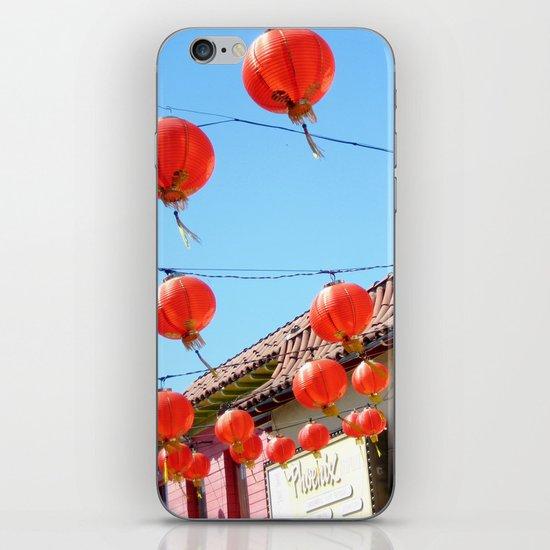 Raise the Red Lantern iPhone & iPod Skin