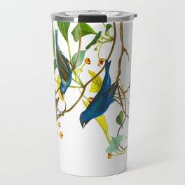 Indigo Bird Travel Mug